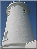 SS9168 : Nash Point Old Lighthouse. by Peter Wasp