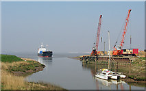 TA0623 : Barrow Haven Wharf by David Wright