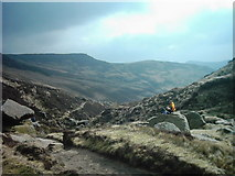 SK1087 : Top of Grindsbrook Clough by Eamon Curry