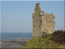 NS3119 : Greenan Shore and Castle by wfmillar