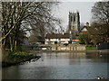 SK5992 : Mill Pond by John Garfoot