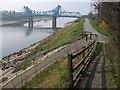 SJ3268 : Queensferry Bridge by John S Turner
