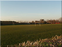 SE4832 : Playing Fields at Sherburn High School by Robert  Neilson