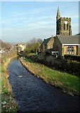 SE0125 : The River Calder, Mytholmroyd by Paul Glazzard