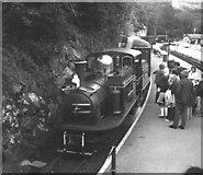SH6441 : Tan-y-bwlch station, Festiniog Railway by Dr Neil Clifton