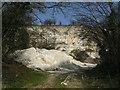 TA2200 : Chalk quarry by John Beal