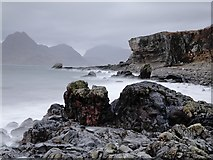 NG5113 : Elgol beach by Roy Tait