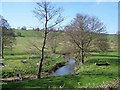 SO7395 : River Worfe Near Rindleford by Geoff Pick