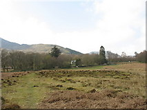 SH5848 : View across the fields to Cwm Cloch Isaf by Eric Jones