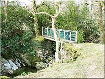 SH5848 : Footbridge over Nant Colwyn by Eric Jones