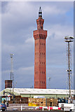 TA2711 : Grimsby Dock Tower by David Wright