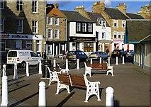 NO5603 : Shore Street seats by Jim Bain