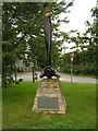 SK8376 : Memorial to the crew of a RAF Stirling that crashed in 1944 by Jeff Tomlinson