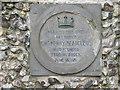 Photo of Henry I stone plaque