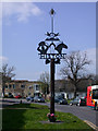 TL4363 : Histon Village Sign by Keith Edkins