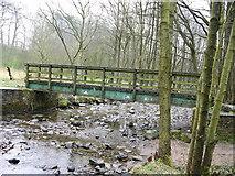 SD7217 : Bridge over Broadhead Brook by liz dawson