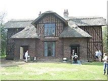 TQ1776 : Queen Charlotte's Cottage, Kew Gardens by Martyn Davies