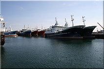 NJ9967 : Fishing Fleet at Fraserburgh by Dominic Moore