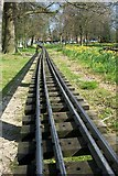 TQ2636 : The Narrow Gauge Railway in Goff's Park, Crawley by Elliott Simpson