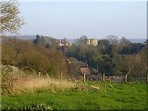 TR0653 : Chilham Castle from Soleshill Road by Penny Mayes