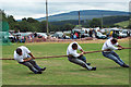 NO0859 : Tug-o-War at Kirkmichael Highland Games by Maigheach-gheal