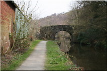 SD9625 : Stoodley Bridge, Rochdale Canal by Dr Neil Clifton