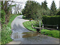 SO7689 : The Ford at Wooton, Shropshire by Roger  Kidd