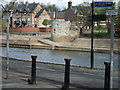 SE5952 : Roman Tower by the River Ouse by Stanley Howe