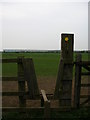 NZ4526 : Stile looking towards Wynyard business Park (formerly Samsung) by Carol Rose