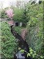 SO8999 : Smestow Brook at Newbridge by John M