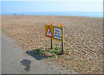 TQ2804 : Keep off the Groynes by Simon Carey