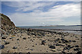 NU1241 : Foreshore below the Heugh, Holy Island by Phil Champion