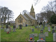 NU0049 : St Peter's Anglican Church, Scremerston by Raymond Chisholm