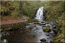 J3996 : Glenoe waterfall (15) by Albert Bridge