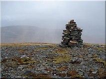 NH1718 : Summit of Aonach Shasuinn by Tony Kinghorn