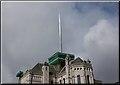 J3374 : New spire, St Anne's, Belfast by Albert Bridge