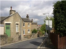 SE1321 : Cottages, Delf Hill, Rastrick by Humphrey Bolton