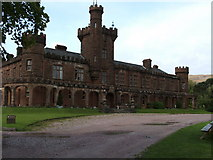 NM4099 : Kinloch castle by James Robson