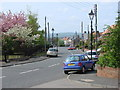 NZ3351 : Newbottle Street scene looking west from the gates of St Matthew's Church by Bill Henderson