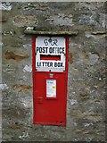 SD9772 : George VI Post Box in Kettlewell. by Steve Partridge