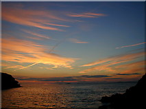SM8513 : Sunset over St Bride's Bay by Chris Gunns
