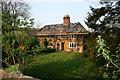 TR0149 : Challock Manor undergoing reconstruction by Jacqui Sadler