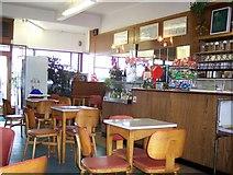 SD4364 : Interior of Brucciani's Ice Cream Parlour on Marine Road Central by Joe Regan