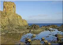 NT4999 : Lady Tower, Sauchar Point by Jim Bain