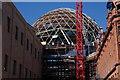 J3474 : Belfast's new dome by Albert Bridge