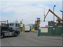 TQ2976 : Scrap Metal Yard, off Pensbury Place SW8 by Danny P Robinson