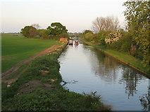 SJ7626 : Canal and evening Sun. by Paul Beaman