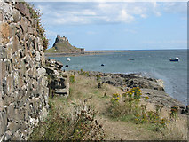 NU1341 : Holy Island (Lindisfarne) - the castle by Pauline E
