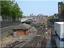 TQ3179 : Bakerloo Line Depot, London Road. by Danny P Robinson