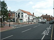 TF4066 : Spilsby Town Centre by Dave Hitchborne